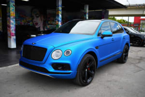 Featured Product: 2018 Bentley Bentayga 3rd Row (Seats 7)   For Rent In Miami Fort Lauderdale Palm Beach South Florida