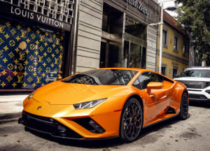 Featured Product: 2022 Lamborghini Huracan EVO    For Rent In Miami Fort Lauderdale Palm Beach South Florida
