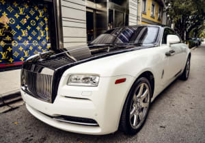 Featured Product: 2018 Rolls Royce Wraith    For Rent In Miami Fort Lauderdale Palm Beach South Florida