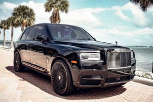 2021 Rolls Royce Cullinan Black Badge  For Rent In Miami Fort Lauderdale Palm Beach South Florida