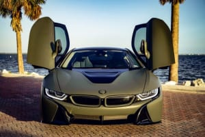 2018 BMW I8   For Rent In Miami Fort Lauderdale Palm Beach South Florida