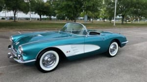 1958 Chevrolet Corvette   For Rent In Miami Fort Lauderdale Palm Beach South Florida