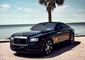 2021 Rolls Royce Wraith Starlight  For Rent In Miami Fort Lauderdale Palm Beach South Florida