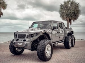 2018 Jeep Gladiator 6x6  For Rent In Miami Fort Lauderdale Palm Beach South Florida