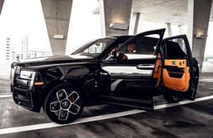 2021 ROLLS ROYCE CULLINAN - BLACK BADGE    For Rent In Miami Fort Lauderdale Palm Beach South Florida