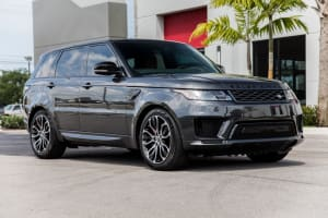 Range Rover Sport Graphite    For Rent In Miami Fort Lauderdale Palm Beach South Florida