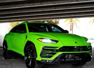 2022 Lamborghini Urus  Green    For Rent In Miami Fort Lauderdale Palm Beach South Florida