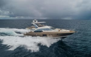 66′ AZIMUT FLYBRIDGE    For Rent In Miami Fort Lauderdale Palm Beach South Florida