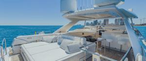 97′ FERRETTI    For Rent In Miami Fort Lauderdale Palm Beach South Florida