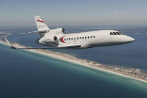 Falcon 900LX/EX    For Rent In Miami Fort Lauderdale Palm Beach South Florida