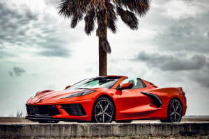 Chevrolet Corvette C8 Convertible    For Rent In Miami Fort Lauderdale Palm Beach South Florida