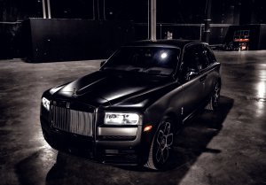 Rolls Royce Cullinan (Flat Black)    For Rent In Miami Fort Lauderdale Palm Beach South Florida