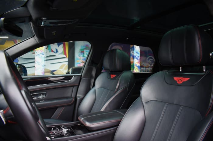 Image #3 of our 2018 Bentley Bentayga 3rd Row (Seats 7) (Blue) In Miami Fort Lauderdale Palm Beach South Florida