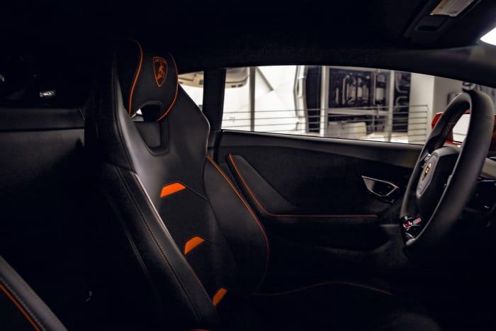 Image #2 of our 2022 Lamborghini Huracan EVO  (Orange) In Miami Fort Lauderdale Palm Beach South Florida