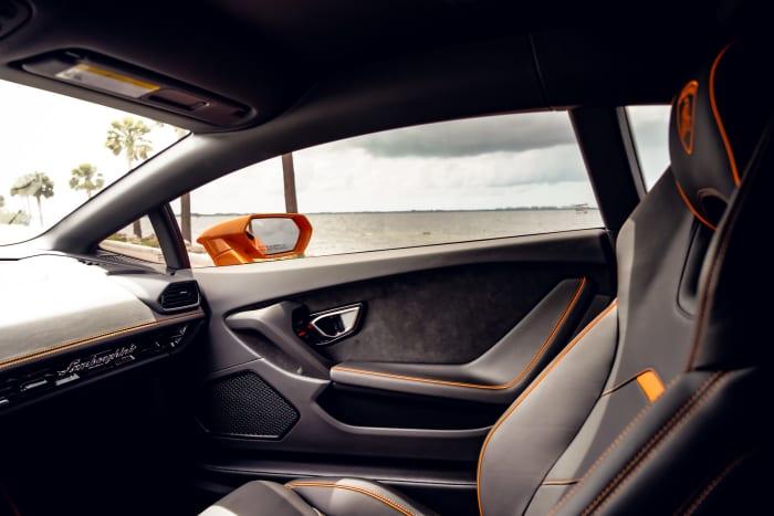 Image #10 of our 2022 Lamborghini Huracan EVO  (Orange) In Miami Fort Lauderdale Palm Beach South Florida