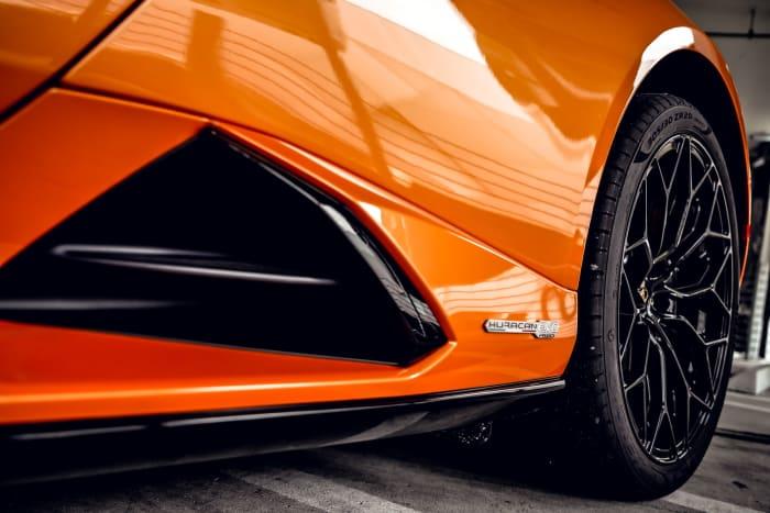 Image #8 of our 2022 Lamborghini Huracan EVO  (Orange) In Miami Fort Lauderdale Palm Beach South Florida