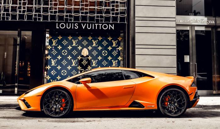 Image #6 of our 2022 Lamborghini Huracan EVO  (Orange) In Miami Fort Lauderdale Palm Beach South Florida