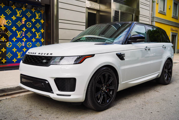 Image #2 of our 2022 Land Rover Range Rover Sport (White) In Miami Fort Lauderdale Palm Beach South Florida