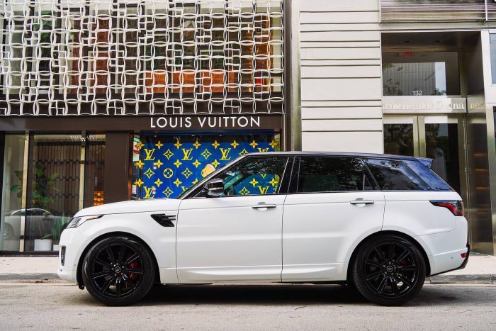Image #3 of our 2022 Land Rover Range Rover Sport (White) In Miami Fort Lauderdale Palm Beach South Florida