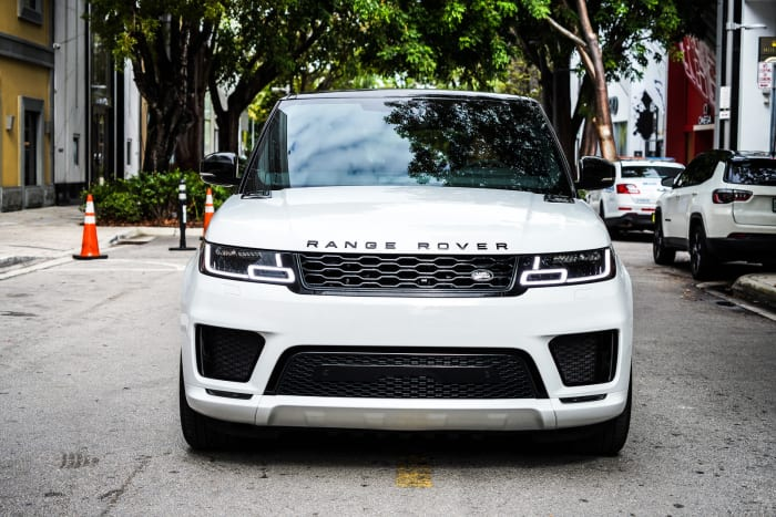 Image #0 of our 2022 Land Rover Range Rover Sport (White) In Miami Fort Lauderdale Palm Beach South Florida