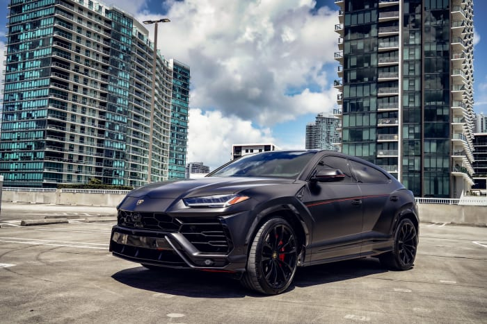 Image #0 of our 2021 Lamborghini Urus  (Matte Black) In Miami Fort Lauderdale Palm Beach South Florida