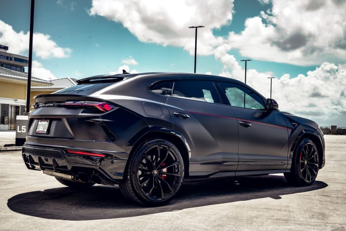 Image #1 of our 2021 Lamborghini Urus  (Matte Black) In Miami Fort Lauderdale Palm Beach South Florida