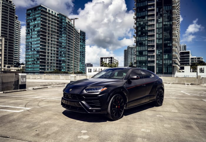 Image #2 of our 2021 Lamborghini Urus  (Matte Black) In Miami Fort Lauderdale Palm Beach South Florida