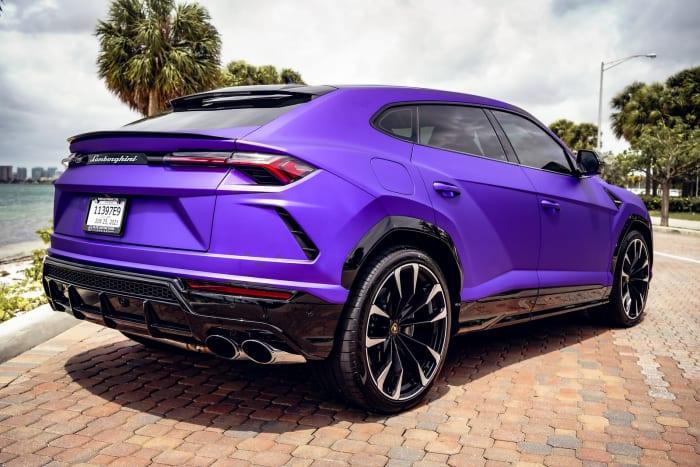 Image #2 of our 2021 Lamborghini Urus  (Purple) In Miami Fort Lauderdale Palm Beach South Florida