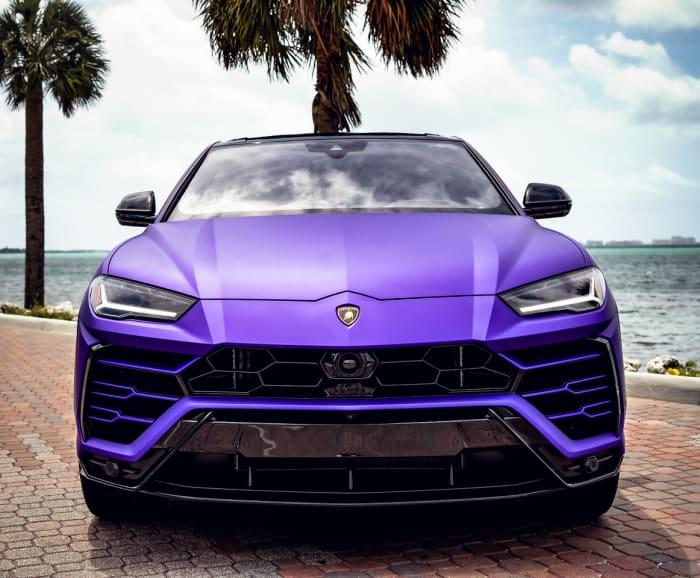 Image #3 of our 2021 Lamborghini Urus  (Purple) In Miami Fort Lauderdale Palm Beach South Florida