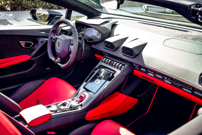 Image #7 of our 2021 Lamborghini Huracan EVO Spyder (Convertible) Italy (Black) In Miami Fort Lauderdale Palm Beach South Florida