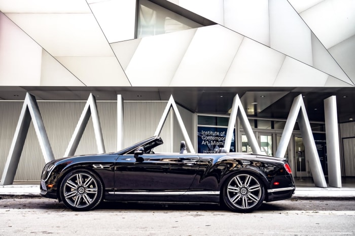 Image #2 of our 2018 Bentley Continental GTC (Converitble) (Black) In Miami Fort Lauderdale Palm Beach South Florida