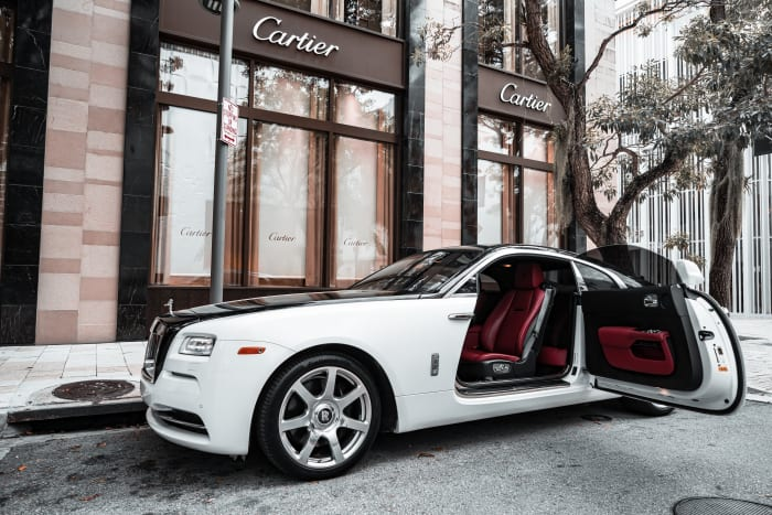 Image #3 of our 2018 Rolls Royce Wraith  (White/Black) In Miami Fort Lauderdale Palm Beach South Florida