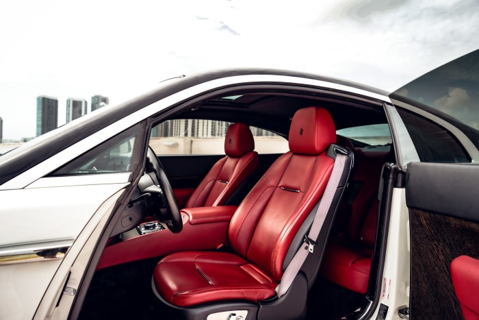Image #4 of our 2018 Rolls Royce Wraith  (White/Black) In Miami Fort Lauderdale Palm Beach South Florida