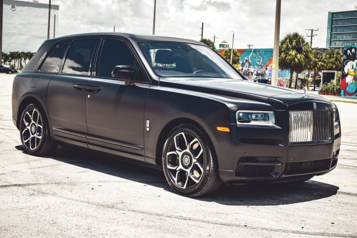 Image #0 of our 2021 Rolls Royce Cullinan  (Matte Black) In Miami Fort Lauderdale Palm Beach South Florida