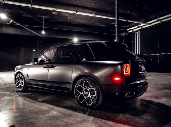 Image #7 of our 2021 Rolls Royce Cullinan  (Matte Black) In Miami Fort Lauderdale Palm Beach South Florida