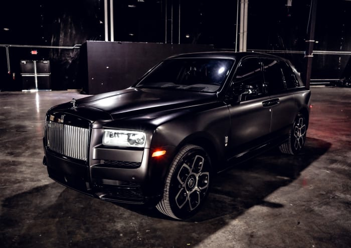 Image #10 of our 2021 Rolls Royce Cullinan  (Matte Black) In Miami Fort Lauderdale Palm Beach South Florida