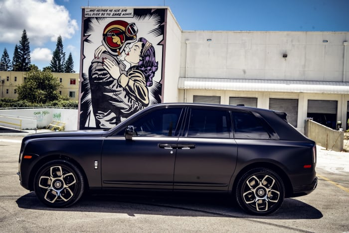 Image #4 of our 2021 Rolls Royce Cullinan  (Matte Black) In Miami Fort Lauderdale Palm Beach South Florida