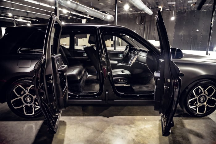 Image #6 of our 2021 Rolls Royce Cullinan  (Matte Black) In Miami Fort Lauderdale Palm Beach South Florida