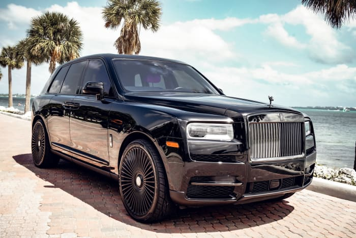 Image #0 of our 2021 Rolls Royce Cullinan Black Badge (Black) In Miami Fort Lauderdale Palm Beach South Florida