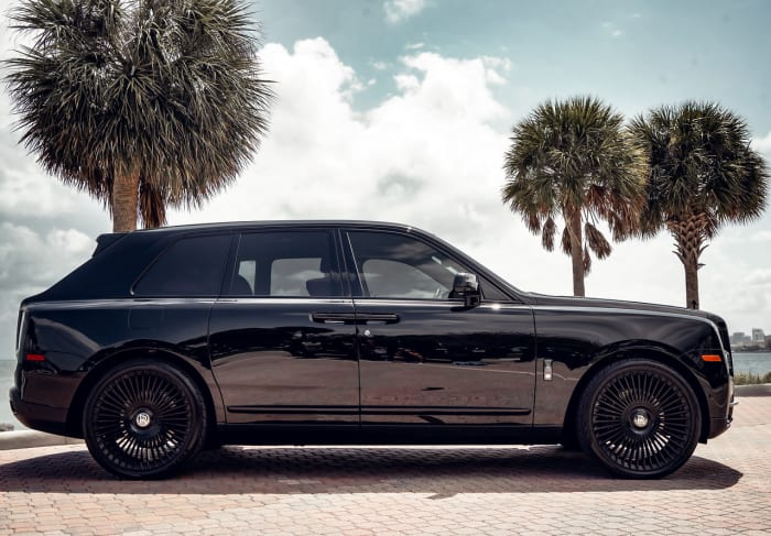 Image #1 of our 2021 Rolls Royce Cullinan Black Badge (Black) In Miami Fort Lauderdale Palm Beach South Florida