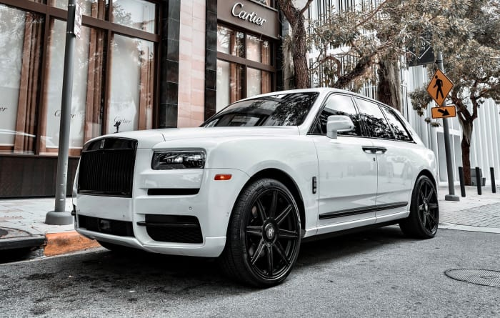 Image #0 of our 2021 Rolls Royce Cullinan  (White) In Miami Fort Lauderdale Palm Beach South Florida