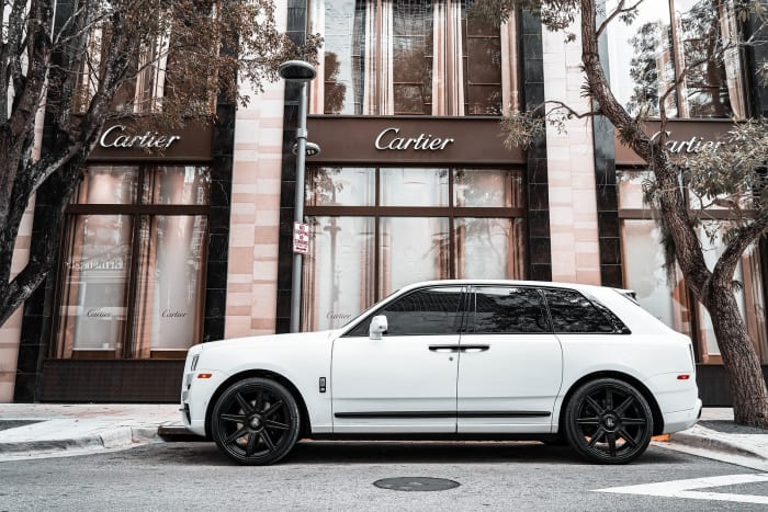 Image #2 of our 2021 Rolls Royce Cullinan  (White) In Miami Fort Lauderdale Palm Beach South Florida