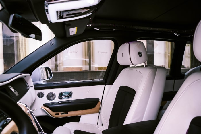Image #6 of our 2021 Rolls Royce Cullinan  (White) In Miami Fort Lauderdale Palm Beach South Florida