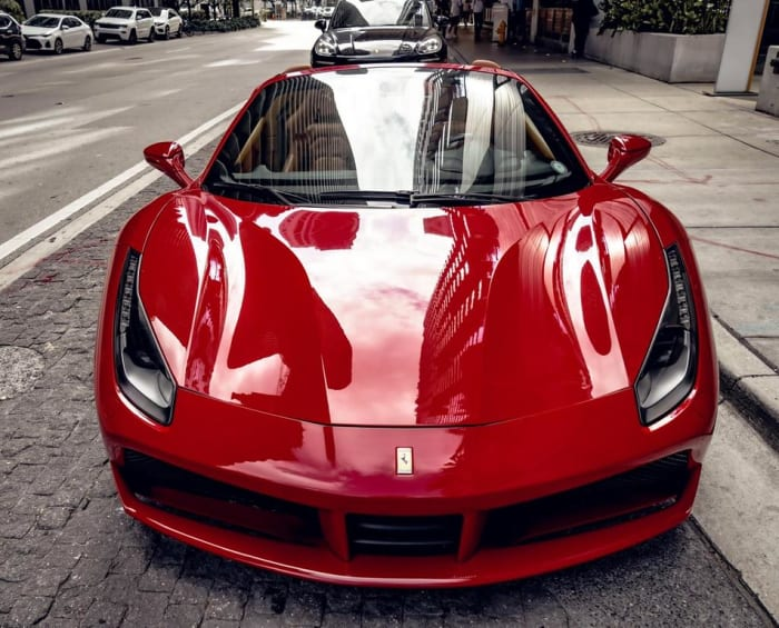Image #3 of our 2021 Ferrari 488 Spyder (Convertible) (Red) In Miami Fort Lauderdale Palm Beach South Florida