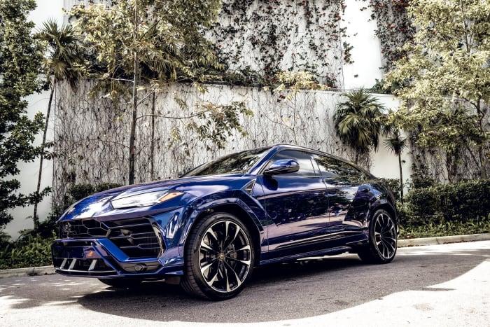 Image #2 of our 2018 Lamborghini Urus  (Dark Blue) In Miami Fort Lauderdale Palm Beach South Florida