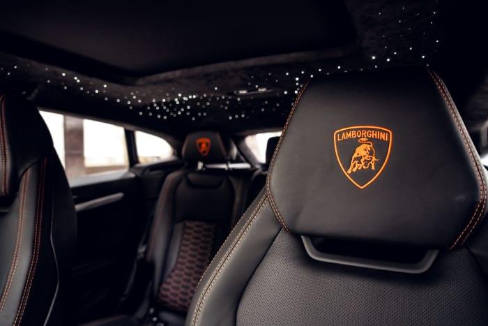 Image #2 of our 2021 Lamborghini Urus Starlight (Orange) In Miami Fort Lauderdale Palm Beach South Florida