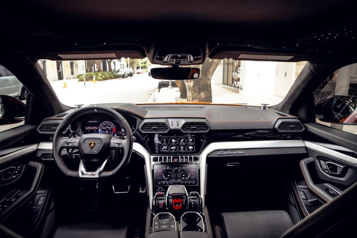 Image #10 of our 2021 Lamborghini Urus Starlight (Orange) In Miami Fort Lauderdale Palm Beach South Florida