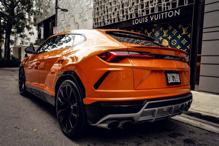 Image #8 of our 2021 Lamborghini Urus Starlight (Orange) In Miami Fort Lauderdale Palm Beach South Florida