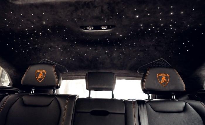 Image #1 of our 2021 Lamborghini Urus Starlight (Orange) In Miami Fort Lauderdale Palm Beach South Florida