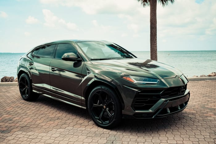 Image #0 of our 2018 Lamborghini Urus  (Army Green) In Miami Fort Lauderdale Palm Beach South Florida